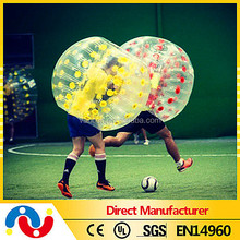 Outdoor sport equitment inflatable bumper bubble ball