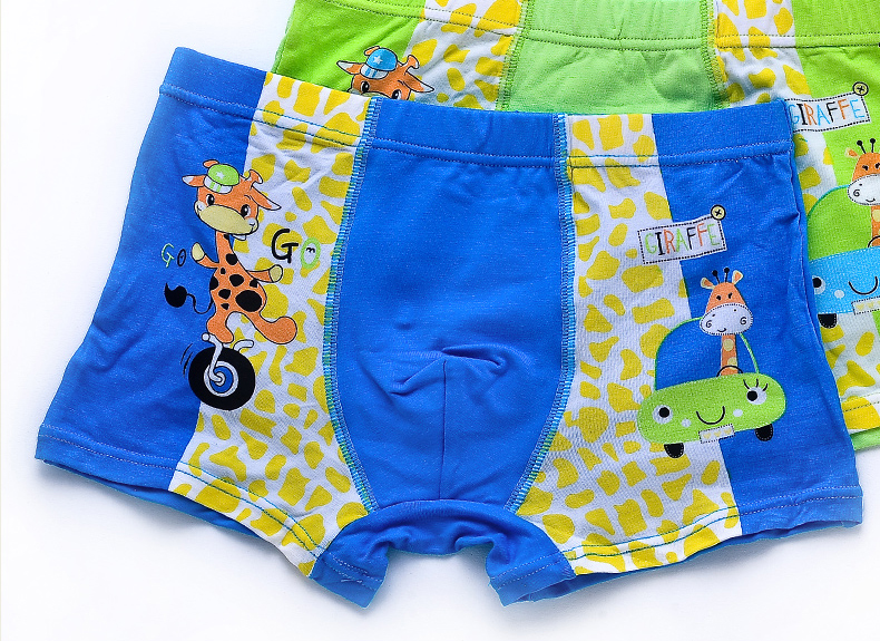 china factory custom children boy boxers underwear .lots of models with high quality