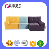 S15931 I shape sofa cheap chinese furniture2016 new designs