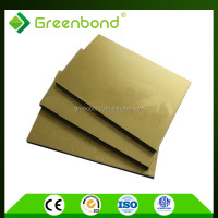 Greenbond CE certification exterior cladding facade panel for building materials