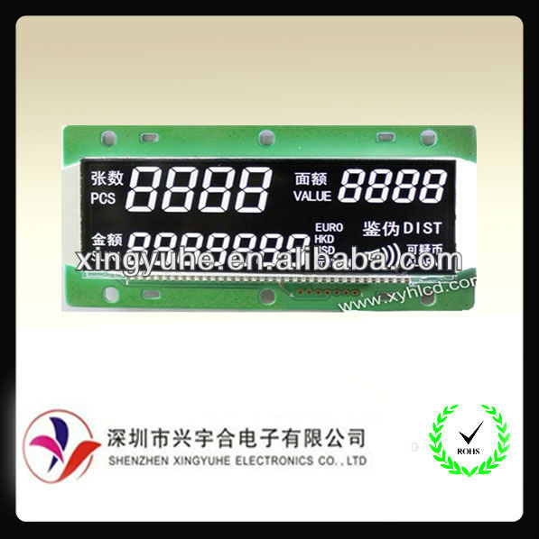custom size screen lcd with special polarizer can protect UV