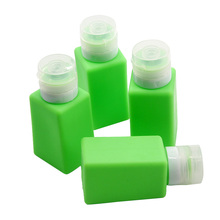 Customized Shampoo Squeeze Silicone Bottle for Outings