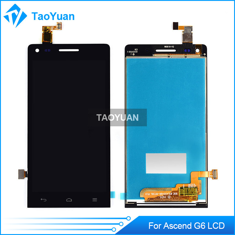 Original LCD and Touch Screen With Frame Assembly for HUAWEI Ascend G6 Repair Parts