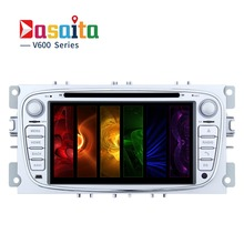 "Dasaita 7"" Android 6.0 Car DVD Player for Ford 2 S-max Mondeo C-max with Octa Core 2GB Ram Auto Radio Multimedia Navi 4G"