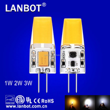 HOT SMD3014 led lamp g4 220-240V G4 1.5W/3W LED Bulbs,g4 led lamp 220v ,CE &ROHS