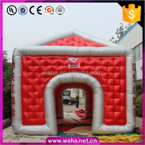 Customization!!!!6*5*4.7 Cheap Commercial Bubble Cube Inflatable Advertising Tent For Sale