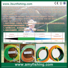 floating, sinking 3ips, intermediate fly fishing line