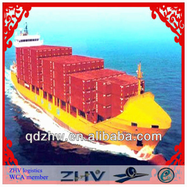 shanghai LCL sea shipping/sea freight agent/WCA member to USA