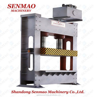 plywood prepress machine before hot press, cold press machine/automatic feeding upper cold press