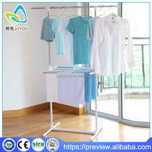 Telescopic Pole Clothes Drying Rack with rotating shelf
