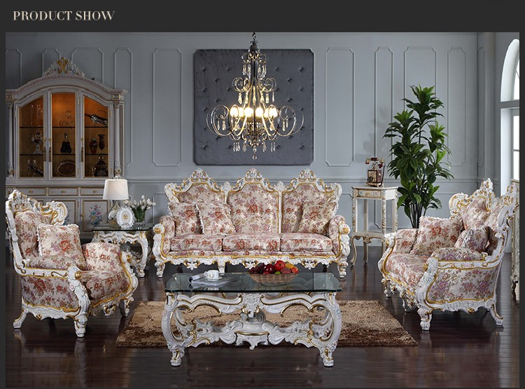 French Country Style Living Room Furniture French Furniture Sofa Set Classic