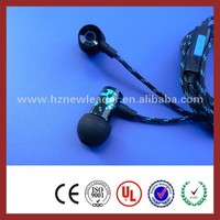 2015 china best braided cable earphones/earbuds/earsets for mobile phone/computer/mp3