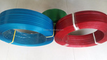 SGS approved PET material and machine packing application PLASTIC STRIP for glass bottle banding