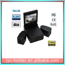 Double lens driving recorder night vision vehicle recorder