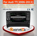 HIFIMAX Android 4.4.4 touch screen car dvd with gps radio for auid TT (2006-2012) WITH HD screen Quad core 16G