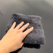 Gray 100% Sheepskin Merino Car Buffing Pad High Quality Wool Pad