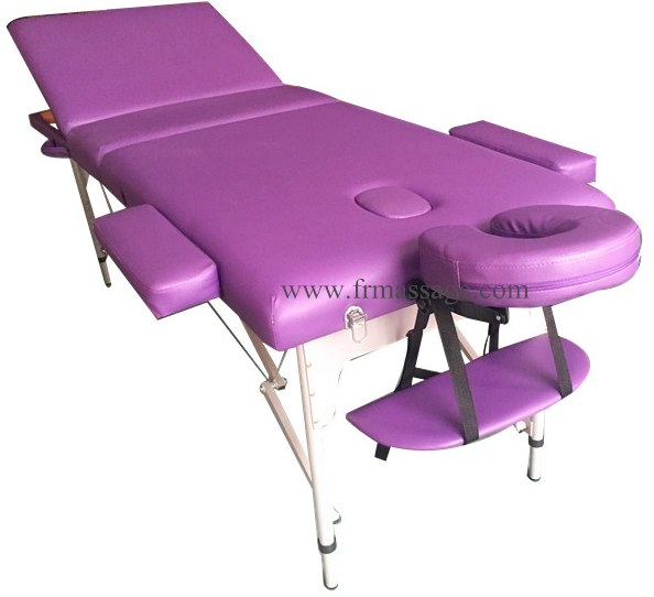 Aluminium Massage Table and Foldable salon bed with Carry Bag High Density Foam