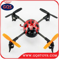 2.4G 4Channel 3D LadyBird aircraft RC UFO 4-Axis Gyro rc mini Quadcopter RTF