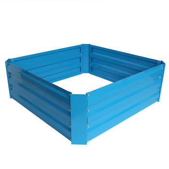 Metal Square Raised Garden Bed Kit