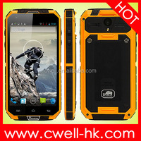 MTK6589 Quad Core 5.0 Inch Corning Gorilla Glass IP68 Waterproof Rugged Smartphone Rhinoking F8