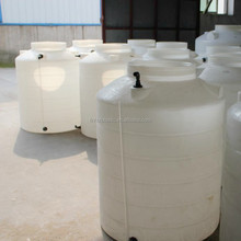 PE round vertical plastic container for waste water treatment