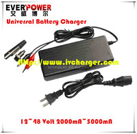 Programmed by MCU controller e-bike 20cells 24V nimh nicd battery charger