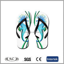 stylish best selling italy cartoon seahorse children flip flop slippers
