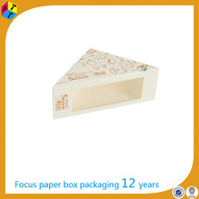 packaging sandwich triangle cake slice boxes uk