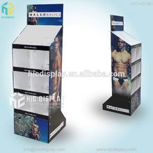 HIC new design 3 sided cardboard display