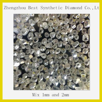 Henan Manufacturer! Best synthetic white rough diamond hot sale in india with fast delivery