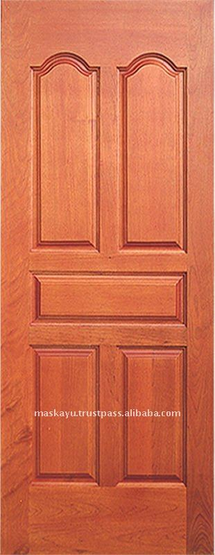 Solid Wood Deco Panel Door