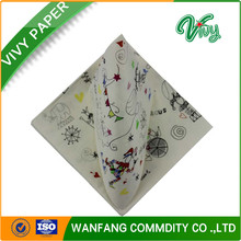 Printed Napkin Paper Soft Color Table Tissue Paper
