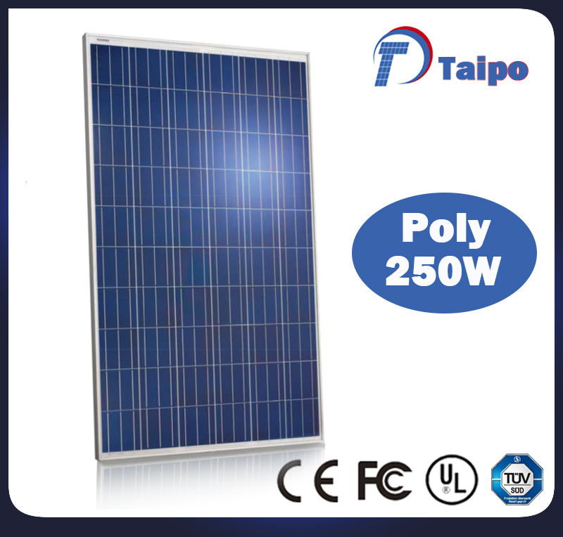 Most efficient custom wholesale polysilicon 250w solar panel wholesale