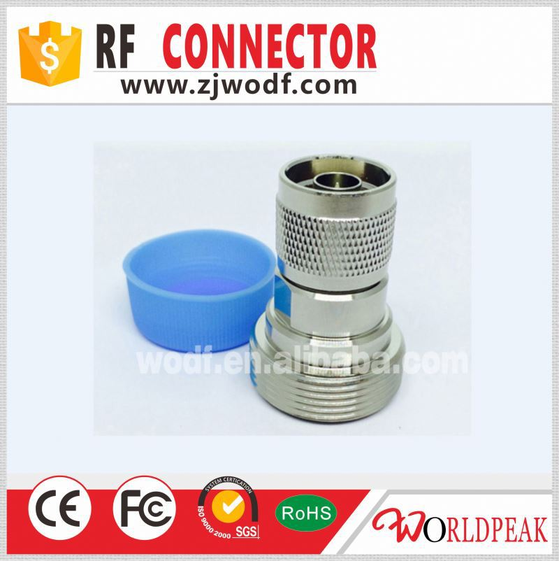 N male to DIN 7/16 female RF coaxial adapter connector