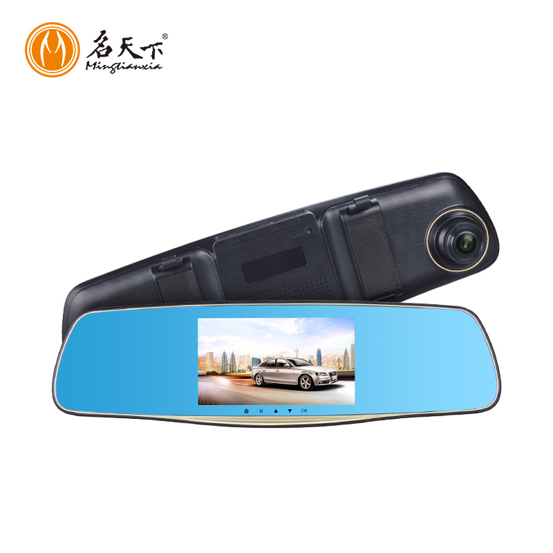 Audio record inside the car 5.0 inch display car dvr MCR08 vehicle camcorder