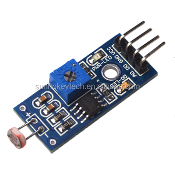 Photosensitive Resistance Sensor Module for Light Detecting intelligent car four-wire