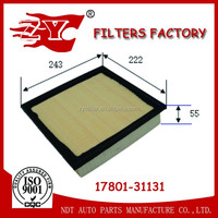 Toyota Air filter used for Lexus ES350/Camry/Highlander 17801-31131