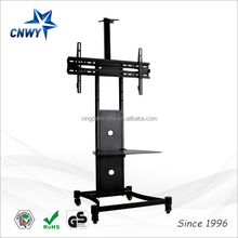 hot selling and cheapest modern design rolling tv stand