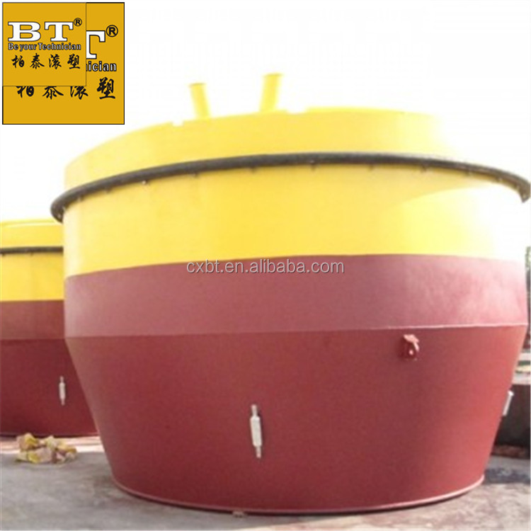 LLDPE Food grade floating buoys south africa mooring buoy hardware large plastic environmental-friendly