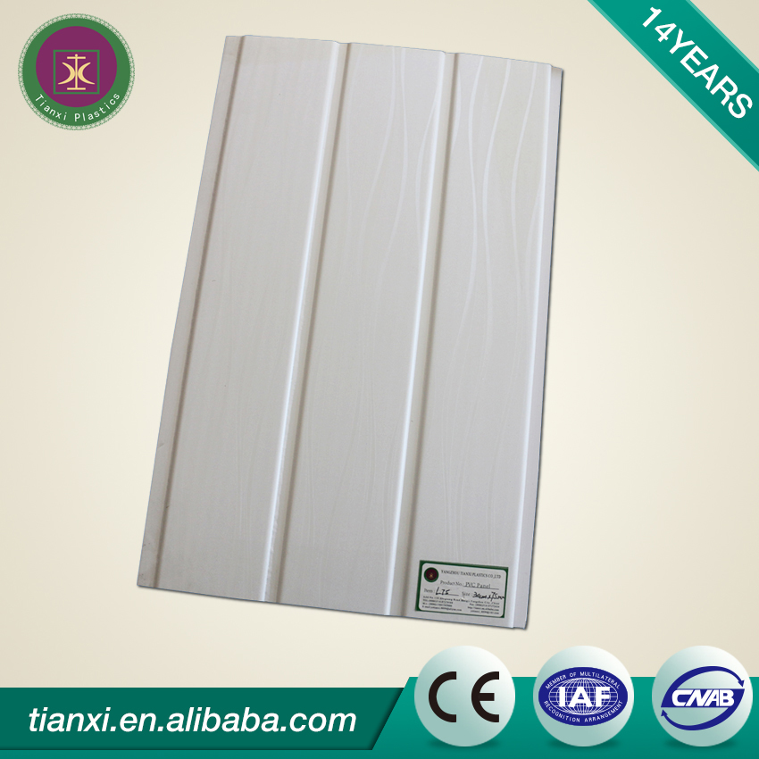 China plastic supplier wide varieties pvc ceiling tile board