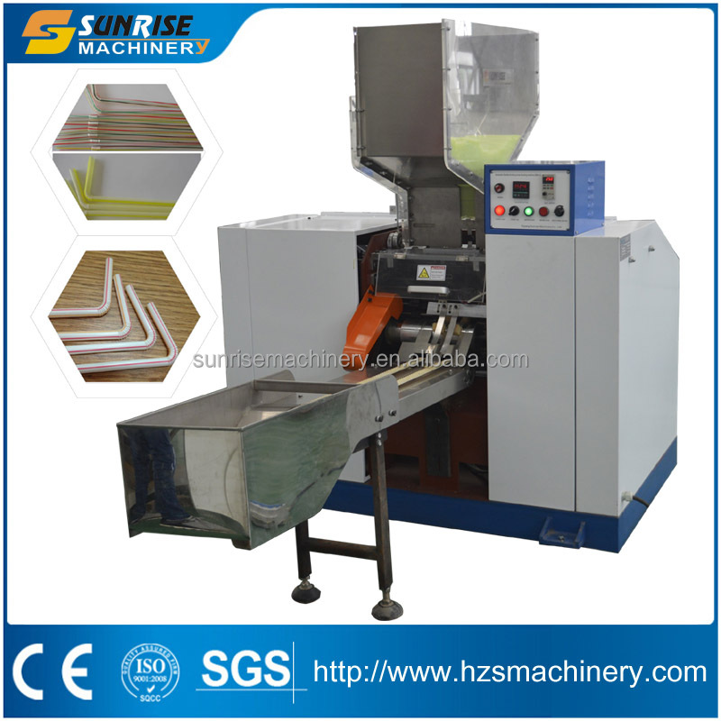 Automatic plastic U Shape Straw Making Machine