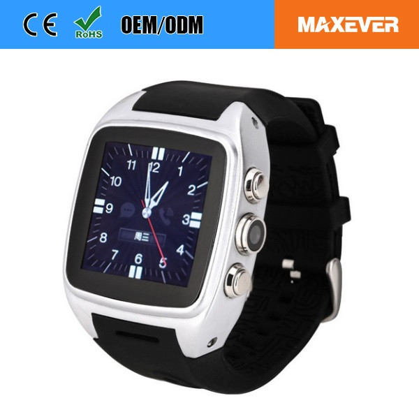 Excellent Quality OEM Dual SIM Watch Phone X01 Waterproof IP65 Android smart Watch with IPS Touch Screen