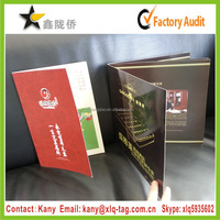 2016 Hot sale custom printed company promotion product catalog printing