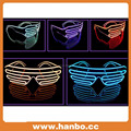 Good Quality Colorful Flashing LED el Party Glasses for Promotion
