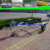 3.6m Single axle Bunks Galvanized car carring Jet ski trailer CT0062B