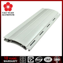 European designed Aluminum extrusion profile slat for Roller/Rolling shutter window and door
