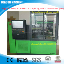 Common rail diesel injector test bench BC-CR825 support vp44 red3 4 eui eup hp0 piezo injector and pump test