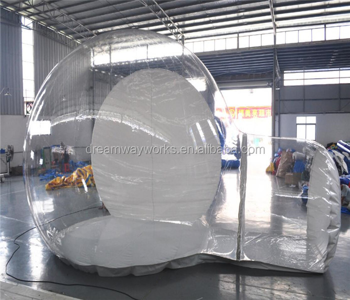 2017 inflatable bubble tent,inflatable transparent bubble tent,inflatable snow globe for sale