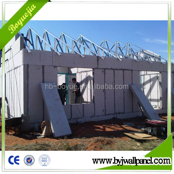 Light weight construction material prefab modular portable container house/ homes/ building
