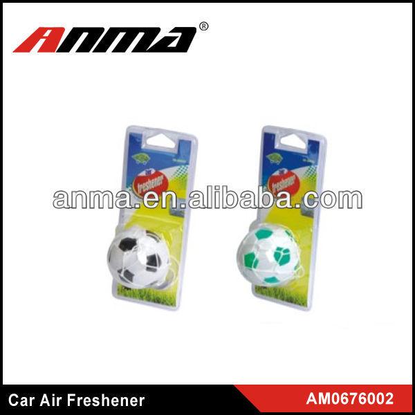 Nice anima cartoon shape car paper air freshener smiley face car hanging air freshener